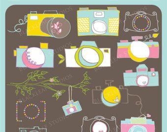 Appareil photo - photographes outils, Retro Camera, Photo, Image, Vintage, logo premade, photographie - personnels et commerciaux utilisation Clip Art