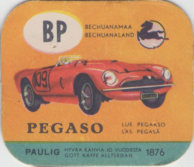 En nostalgitripp fram till jul med hjälp av Pauligs bilkort från mitten av 1900-talet. Pegaso #cars #vintage