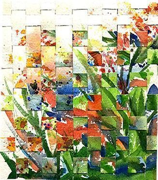 Floral, full of life, bright, geometric, colorful, organic, natural