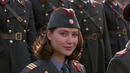 Форма советской милиции. Кадр из фильма Полицейская академия...