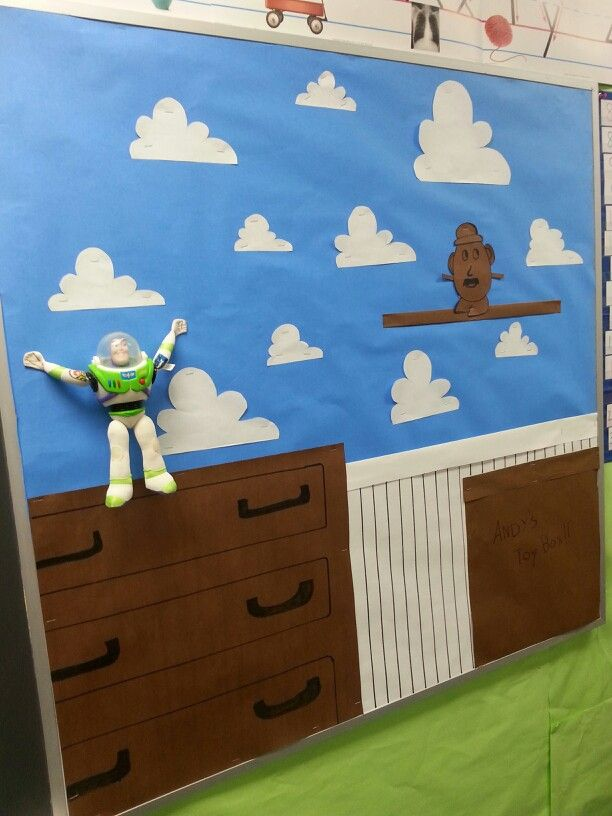Toy Story Bulletin Board