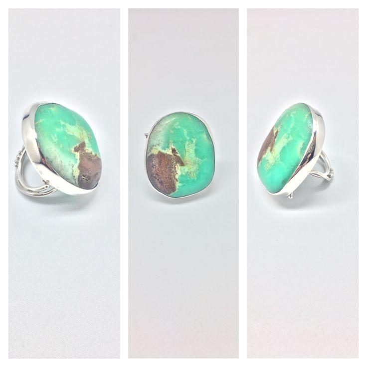 Mermaid ring by Minette Arlow Jewellery