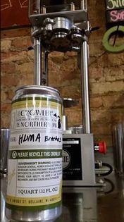 oskar blues canning machine