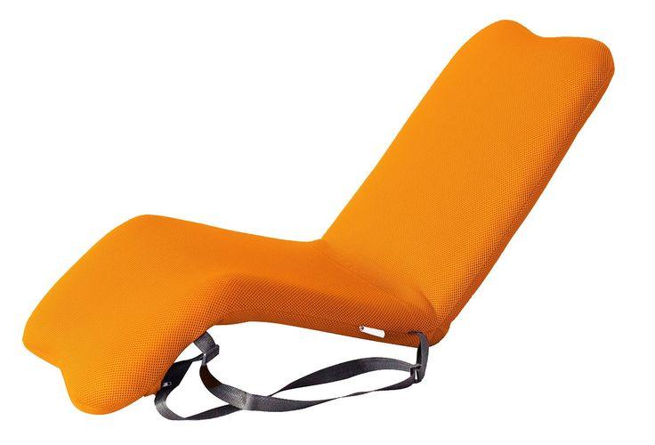 bonVIVO® EASY Padded Garden-Floor Chair