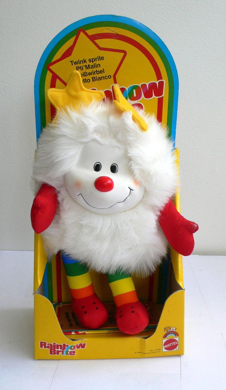 Vintage Rainbow Brite TWINK White SPRITE doll MIB Hallmark Mattel 1983. $24.99, via Etsy.