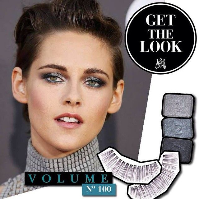 Get the 'Kristen Stewart' look met de Eylure Volume lashes # 100