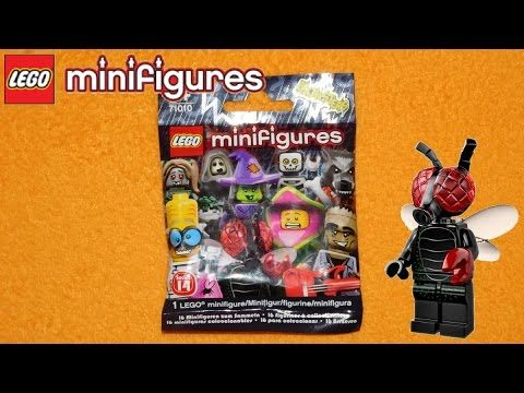 LEGO MINIFIGURES FLY MONSTER 71010 SERIES 14