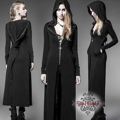 JX203 ★ Gothic ★ witch style ★ Long Parker Court ★ [No Return] ·: glareshop (glare Shop): Gothic punk rock fashion visual kei fashion V-based fashion v-based Ladies Halloween witch Halloween Costume Halloween