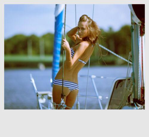 : Bikinis Body, Inspiration, Sailboats, Cars Girls, Bath Suits, Stripes, Sailing Away, Girls Style, Sailing Boats