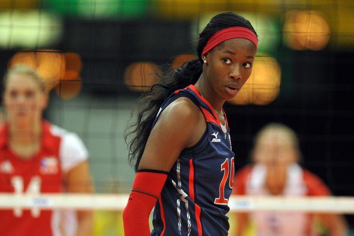 Destany Hooker US volleyball team