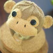 Grabby Monkey Cap - via @Craftsy