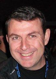 Jérome Dimont, auteur de Jeux Dangereux enquête Rossetti & MacLane...