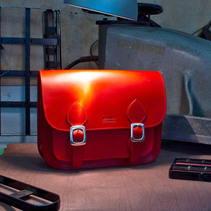 #redleather #satchel #leather satchel #leather bag