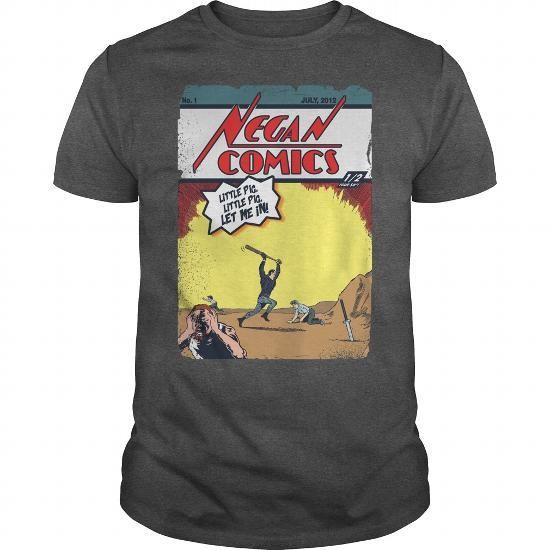 I Love Negan Comics 1 TShirt T-Shirts