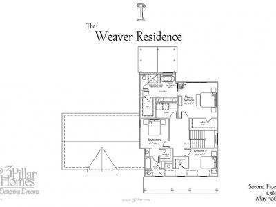 The Weaver Residence | Floor Plans | 3 Pillar Homes