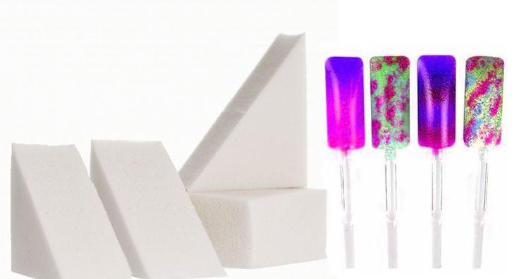 Novidade!! Esponjas para fazer nail art!! Conjunto de 4 esponjas por 2,50€! Adquira as através do link: http://biucosmetics.com/4-esponjas-para-nail-art.html
