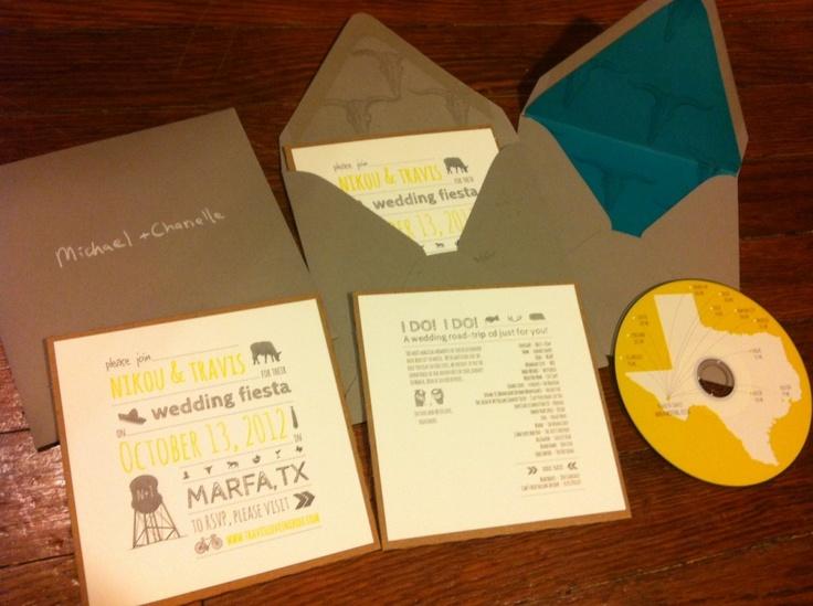 19 best CD wedding invitation images on Pinterest Bridal
