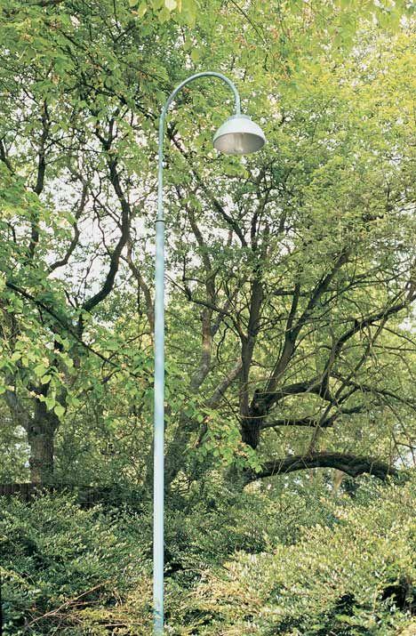David Mellor tubular steel lighting column. Designed in 1954 whilst still a student.
