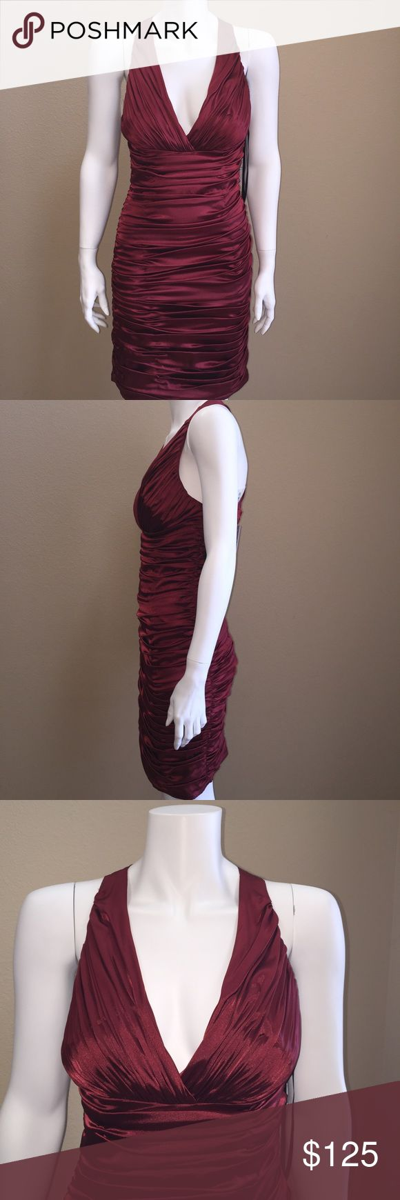 Laundry by shelli segal Perfect for the holidays ❤️COLOR IS Maroon Laundry by Shelli Segal Dresses Midi