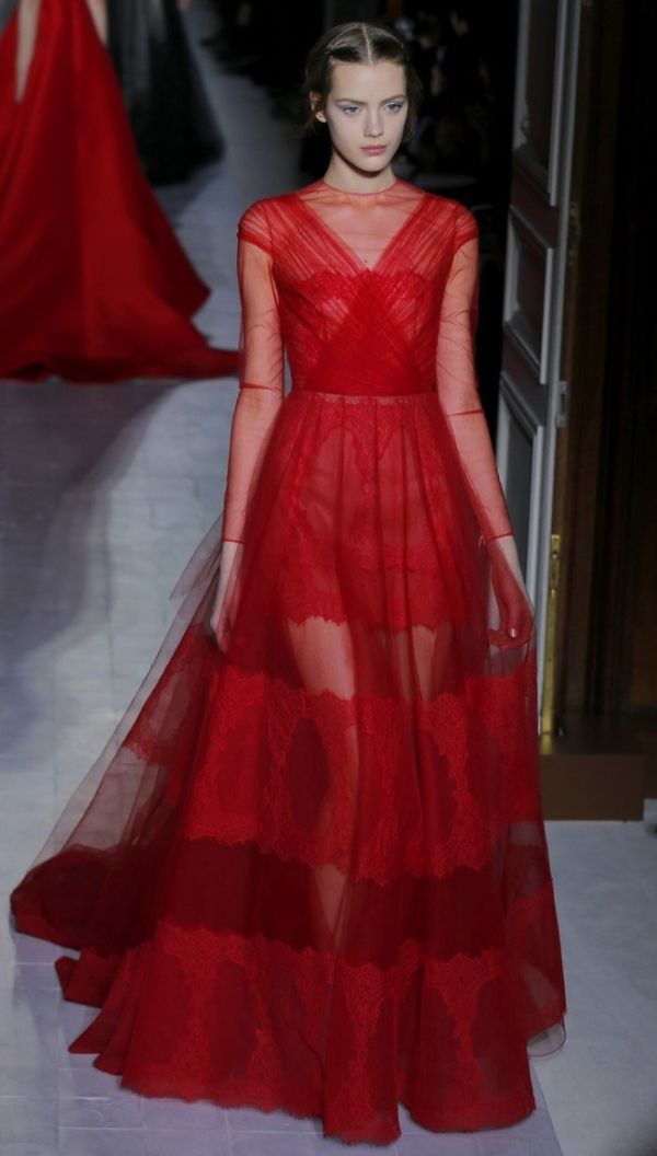 Gallery: Valentino - Runway - Paris Fashion Week Haute Couture Collections