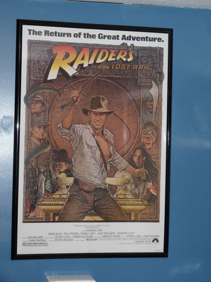 https://flic.kr/p/96tnCw | Raiders of the Lost Ark Poster | Re-release poster from 1982.