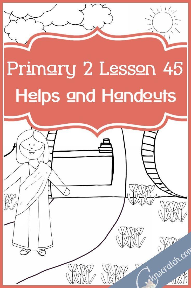 Die 192 besten Bilder zu LDS Primary auf Pinterest | Book of ...