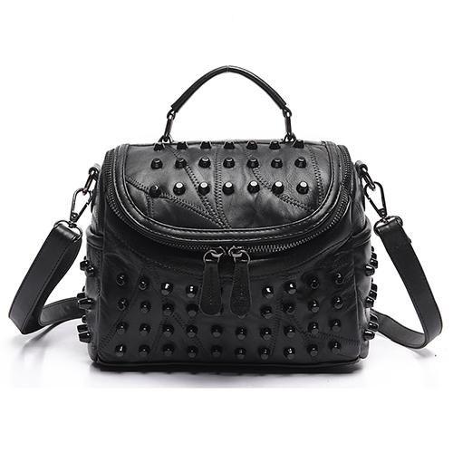 <b>Luxury</b> Women Genuine <b>Leather Bag</b> Sheepskin Messenger <b>Bags</b> ...