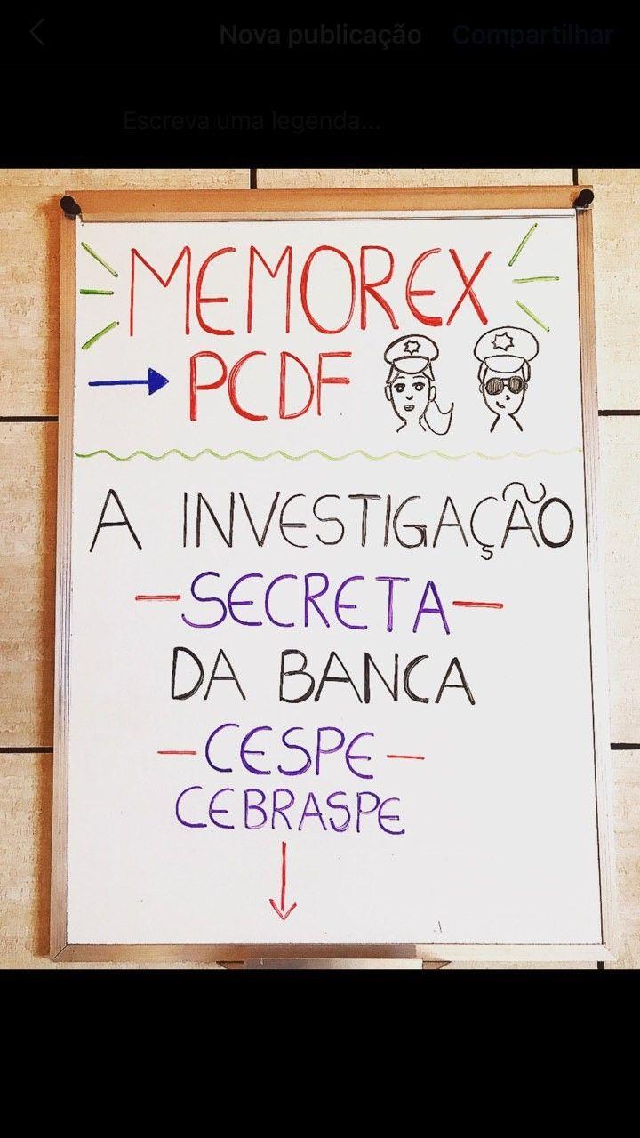 Memorex Pc Df Escrivao Em 2020 Com Imagens Dicas Para