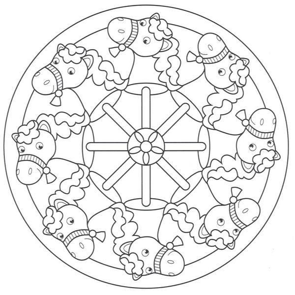 Diferents models mandales de CAVALL