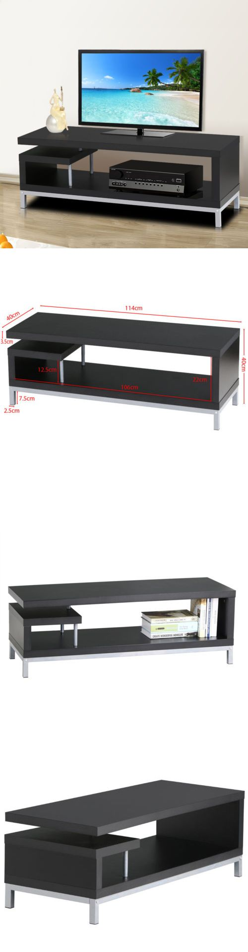 Tech craft tv stands - Speaker Mounts And Stands Modern Contemporary Lcd Plasma Tv Stand Television Entertainment Center Living