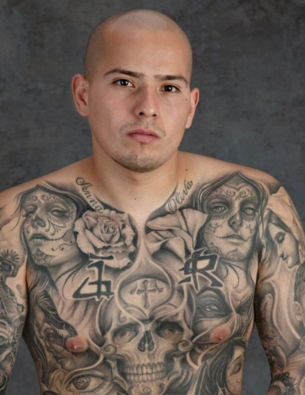 Cholo Tattoos Face: 40 Best Mexican Gangster Tattoos Images On Pinterest