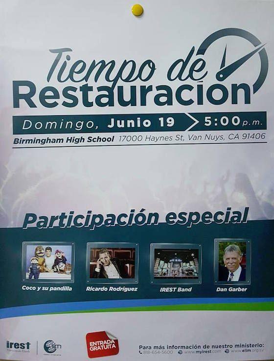 Tiempo de Restauración Para El Valle de San Fernando ->> http://soloparatiradio.com/?p=10222 - Twitter/Instagram via @soloparatiradio