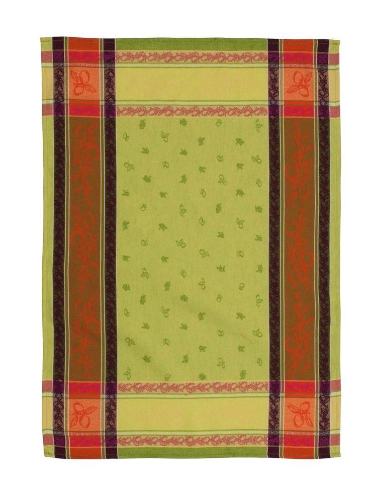 """Citronnier"" Jacquard Tea Towel"