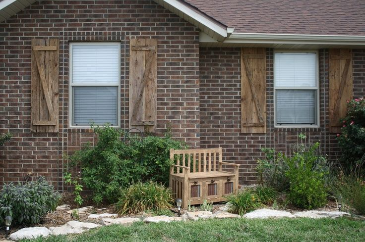 17 Best Images About Rustic Exterior Shutters On Pinterest Furniture Timber Products And Search