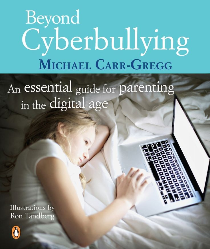 Beyond Cyberbullying: An Essential Guide for parenting in the digital age by Michael Carr-Gregg.  The internet is fun and fabulous and it's here to stay, but it can pose serious risks for some kids. In this compelling and insightful book, Michael Carr-Gregg explains what kids get up to, provides guidelines for family internet safely and advises how to minimise the riskes without limiting your children's freedom to learn, explore and communicate in the all-important cyber world.