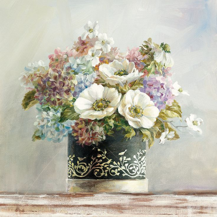 Masterpiece Art - Anemones in Black and White Hatbox, $18.30 (http://www.masterpieceart.com.au/anemones-in-black-and-white-hatbox/)