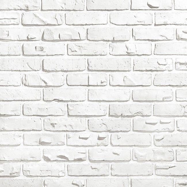 Искусственный камень Kamrock Клинкерный кирпич 34020 белый, цена - купить Kamrock Клинкерный кирпич 34020 белый в Москве