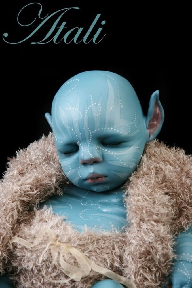 Reborn Doll Avatar Na Vi Baby Babies Avatar And Dolls