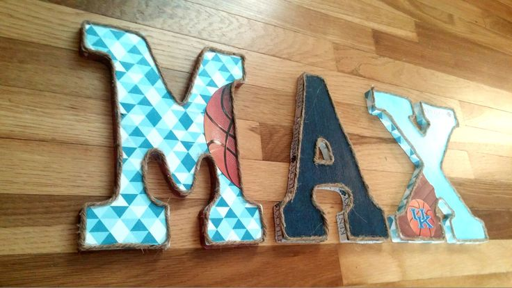 University of Kentucky Basketbal Letters by EclecticObj on Etsy