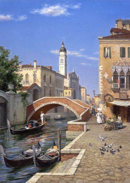 """De Michael Satarov  """"Venice : Nicolotti bridge   """"   ©"""