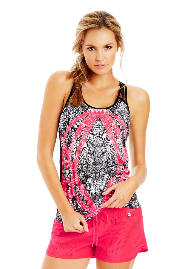 #Lornajane #ljfitlist Animania Excel Tank | Leisure & Travel | Activities | Styles | Shop | Categories | Lorna Jane Site