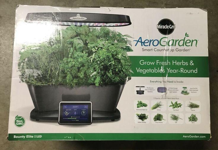 Aerogarden Smart Countertop Garden Bounty Elite Gourmet 400 x 300