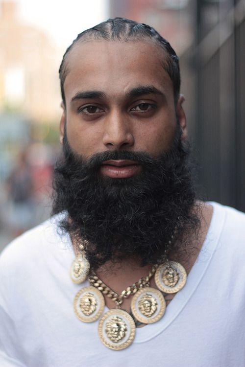 199 best Men with beards images on Pinterest | Black men beards ...