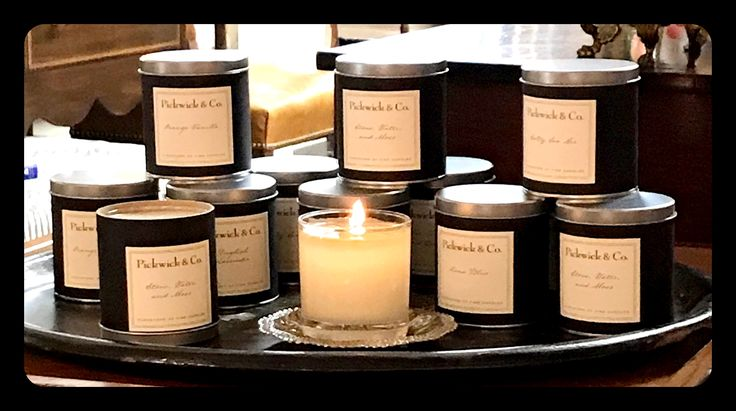 Picwick & Co. Candles Debut in Atlanta at Now and Again! Great outdoor scents, hand poured and nature friendly!