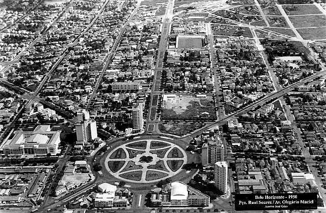 Praça Raul Soares - BH - 1949