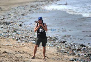 Kerry B. Collison Asia News: Rubbish wasteland across Bali Beaches