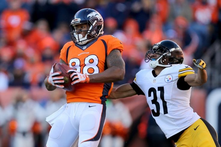 Peyton Manning Gave Demaryius Thomas' Mom Broncos-Steelers Game Ball ...