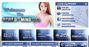 Dewadominoqq.com Agen Domino dan BandarQ Online Indonesia Terpercaya, Denagn Minimal Deposit 20.000. Daftar Sekarang di Dewadominoqq.com