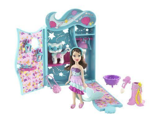 Polly Pocket Sparklin Pets Dress Up Lila Doll & Pet Cat by Mattel. $24.37. This darling Polly Pocket Sparklin Pets Dress Up Set is sure to provide hours of imaginative play! It comes with a Lila doll and has color change features!Polly Pocket Sparklin Pets Dress Up SetIncludes Lila doll and pet catMatching costumes for Lila and her petColor change surprisesFashion adventure fun!Recomended for ages4and up
