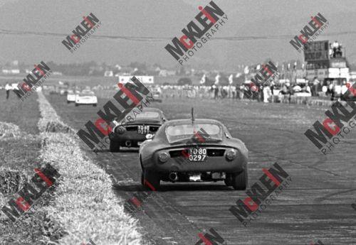 Johannes Ortner - 1966 - Austrian Grand Prix - McKlein poster print
